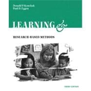Learning and Teaching : Research-Based Methods