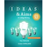 IDEAS & Aims For College Writing, MLA Update