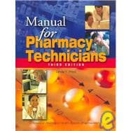 Manual for Pharmacy Technicians