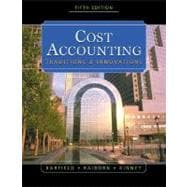 Cost Accounting Traditions & Innovations