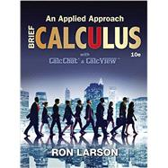 Calculus An Applied Approach, Brief