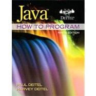 Java How to Program (early objects) plus MyProgrammingLab with Pearson eText -- Access Card