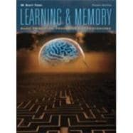 Learning And Memory- (Value Pack w/MySearchLab)