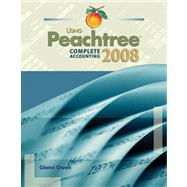 Using Peachtree Complete 2008 Accounting (Book with CD-ROM)