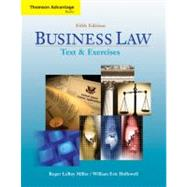 Cengage Advantage Books: Business Law Text and Exercises (with 2008 Online Research Guide)