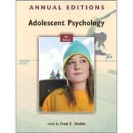 Annual Editions: Adolescent Psychology, 8/e