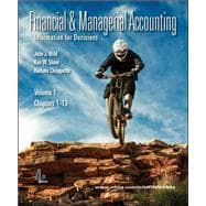 Financial and Managerial Accounting Vol 1 (Ch 1-13) softcover w/Working Papers + Connect Access Card