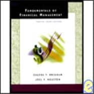 Fundamentals of Financial Management: Concise Third Edition