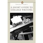 Short Guide to College Writing, A