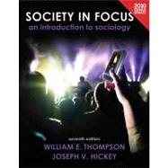 Society in Focus An Introduction to Sociology, Census Update