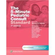 The 5-Minute Pediatric Consult Standard Edition 10-day Enhanced Online Access + Print