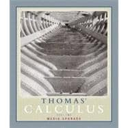 Thomas' Calculus, Media Upgrade, Part Two (Multivariable, Chap 11-16)