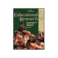 Educational Research : Competencies for Analysis and Application