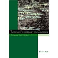 Theories of Psychotherapy and Counseling Concepts and Cases (with InfoTrac)