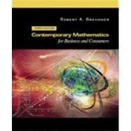 Contemporary Mathematics For Business And Consumers With 2003 Tax Update