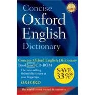 Concise Oxford English Dictionary Dictionary and CD-ROM set, 11th edition, Revised
