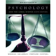 Wrightsman�s Psychology and the Legal System