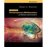 Contemporary Mathematics For Businesses And Consumers, Brief With 2003 Tax Update