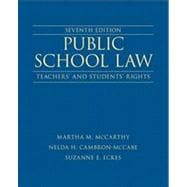 Public School Law Teachers' and Students' Rights Plus NEW MyEdLeadershipLab with Pearson eText -- Access Card