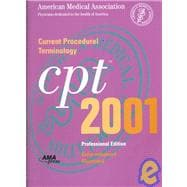 Cpt 2001: Current Procedural Terminology: Professional Edition