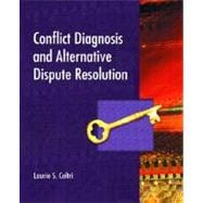 Conflict Diagnosis and Alternative Dispute Resolution