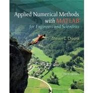 Applied Numerical Methods with MATLAB : For Engineers and Scientists