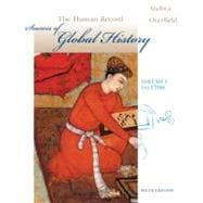 Human Record Vol. 1 : Sources of Global History to 1700