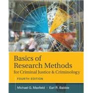 Basics of Research Methods for Criminal Justice and Criminology