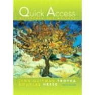 Quick Access Reference for Writers (with MyCompLab NEW with Pearson eText Student Access Code Card)