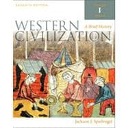 Western Civilization: A Brief History, Volume I, 7th Edition