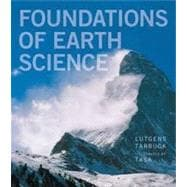 Foundations of Earth Science Plus MasteringGeology with eText -- Access Card Package