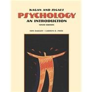 Cengage Advantage Books: Kagan and Segal's Psychology An Introduction (with InfoTrac)