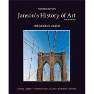 Janson's History of Art Portable Edition Book 4 The Modern World