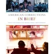 American Corrections in Brief, 1st Edition