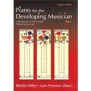 Piano for the Developing Musician, Media Update , 6th Edition