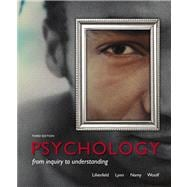 Psychology From Inquiry to Understanding (paperback)
