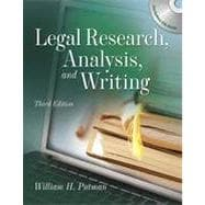 Legal Research, Analysis and Writing, 2nd Edition