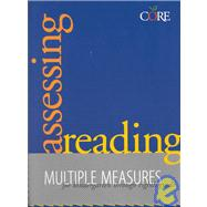 Assessing Reading: Multiple Measures for Kindergarten Through Eighth Grade
