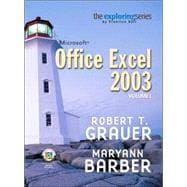 Exploring Microsoft Excel 2003, Vol. 1 and Student Resource CD Package
