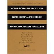 Modern Criminal Procedure, Basic Criminal Procedure, Advanced Criminal Procedure, 13/E, 2012 Supplement