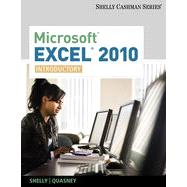 Microsoft� Excel 2010: Introductory, 1st Edition