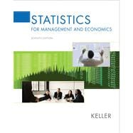 Statistics for Management and Economics (with CD-ROM and InfoTrac)