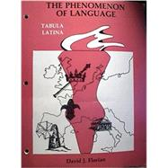 Phenomenon of Language: Tabula Latina