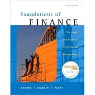 Foundatns Of Finance: Logic&Prac&Mfl Sak Pk