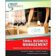 Wiley Pathways Small Business Management, 1st Edition