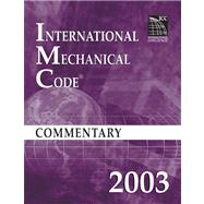 International Mechanical Code Commentary 2003