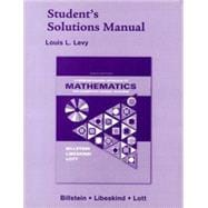 Student Solutions Manual for Problem Solving Approach to Elementary School Teachers