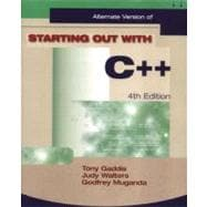 Starting Out with C++ Alternate