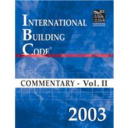 2003 International Building Code: Commentary