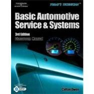 Today�s Technician Basic Automotive Service and Systems